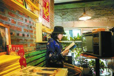 石景山老厂房变身阅读空间