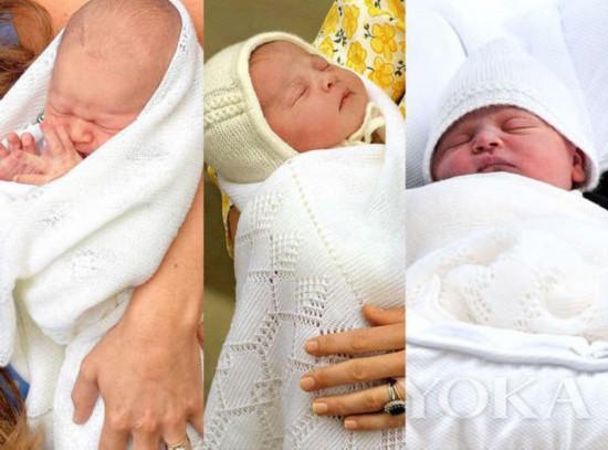从左至右:乔治、夏洛特、第三胎(图片来源于NiceNewsng)