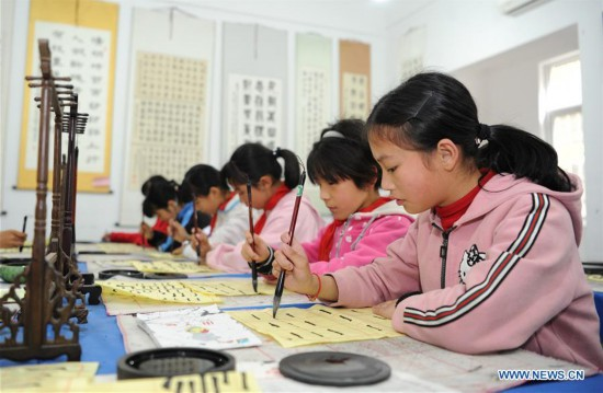 School reconstructed after devastating Wenquan earthquake in NW China
