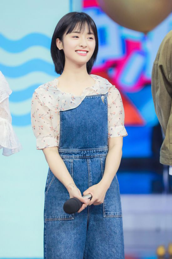 沈月上《快乐大本营》 曾经在湖南卫视实习