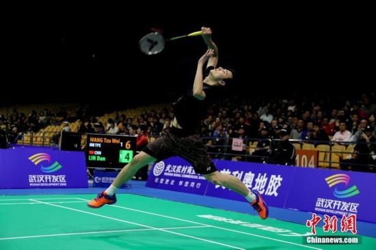 亚洲羽毛球锦标赛 林丹止步首轮