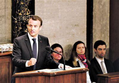 法国总统马克龙呼吁支持多边主义与全球化