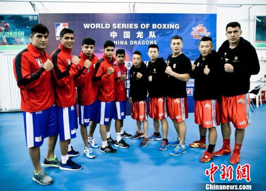 世界拳击联赛:中国龙队收官战对决印度老虎队