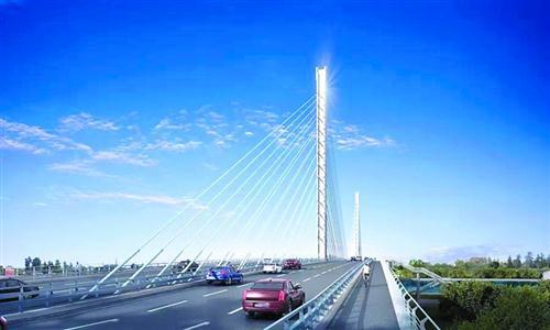 """打造沪浙水上高速通道""""上海斜拉桥之母""""泖港大桥拆除新建"""