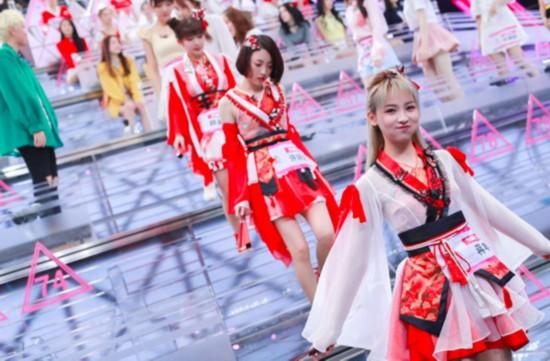 SING女团《创造101》出场告捷 赖美云加入B班