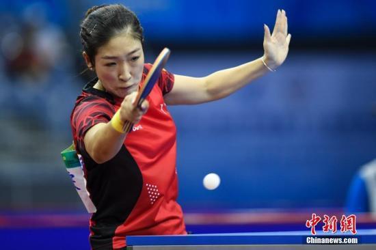中国乒乓女队横扫奥地利队晋级四强