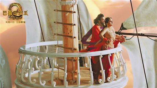 印度票房冠军《巴霍巴利王2:终结》画面恢宏