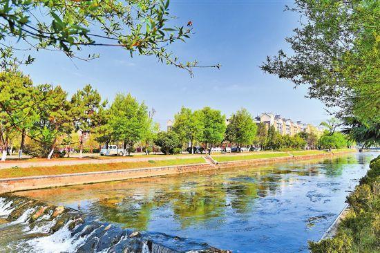 昌宁右甸河:修复生态润泽田园