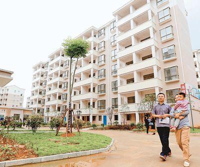 图片报道:江西省峡江县举行公共租赁住房钥匙发放仪式