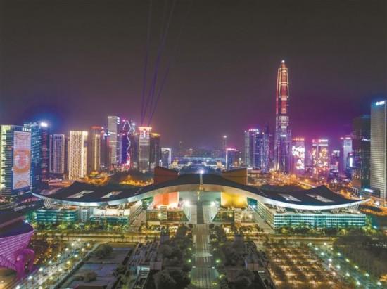 """深圳提升""""一线两点""""夜间景观"""