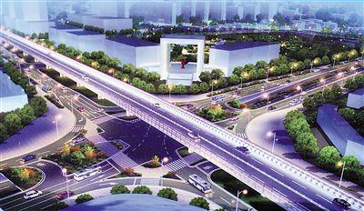 新南立交明年通车 将打通新牌坊到北环的堵点