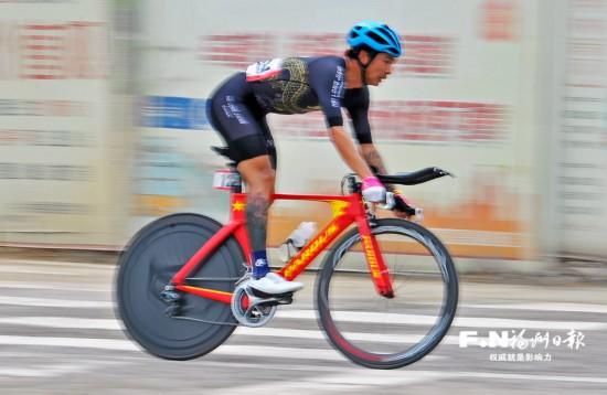 亚运会公路自行车选拔赛在永泰举行