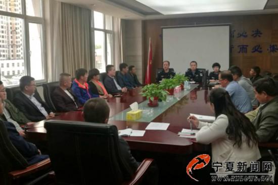 银川车管所召开货运车辆管理警示会议
