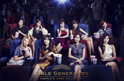 韩国女团少女时代海报