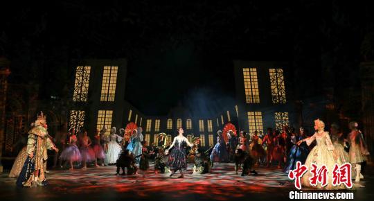 上海芭蕾舞团版《睡美人》全球首演