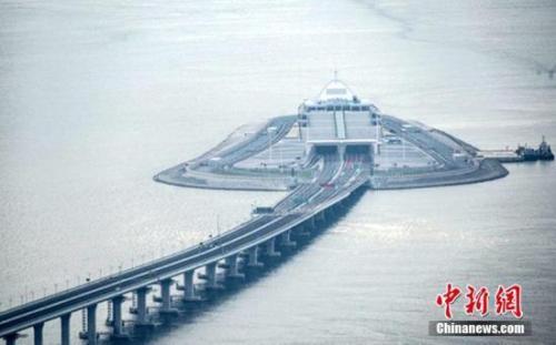 资料图:港珠澳大桥。中新社记者 麦尚�F 摄