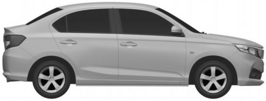 本田新车型外观图曝光 采用家族式设计