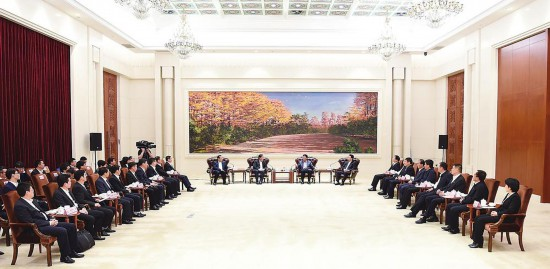 绍兴市党政代表团到吉林省进行考察
