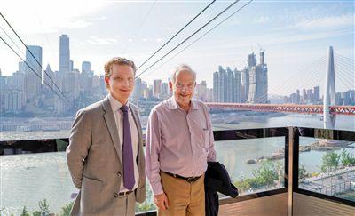 加拿大驻华大使访问重庆 第一站坐了长江索道
