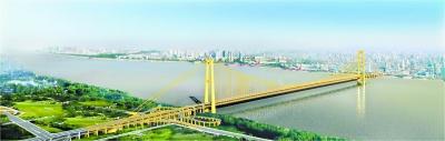 长江主轴8座大桥将添彩妆 完工后可赏立体灯光秀