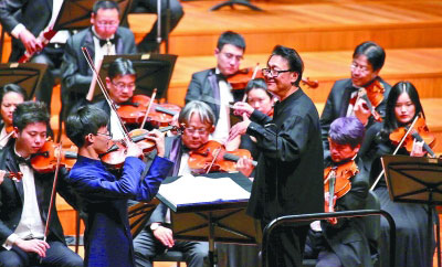 国家大剧院五月音乐节开幕来听一场弓弦盛宴--文化--人民网