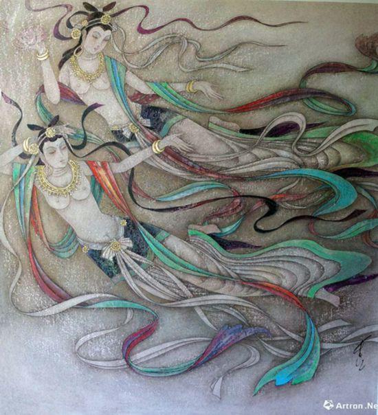 东方眼睛西方艺术:冯长江韵味作品欣赏看情趣要情趣为何女人图片