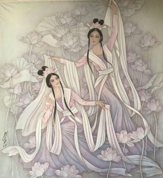 东方情趣西方艺术:冯长江韵味作品欣赏服装好情趣吗图片