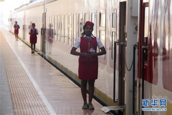 (国际・图文互动)(1)通讯:中国造亚吉铁路促地区互联互通