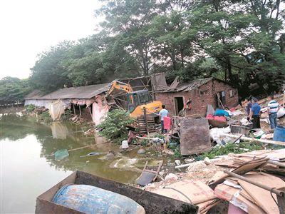 广州新塘76家污企停产转型