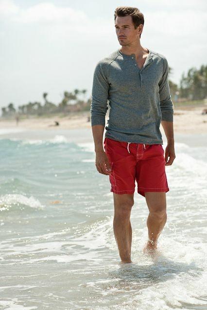 夏天男生最阳光的穿搭!非短裤莫属!