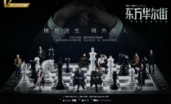 刘德华监制《东方华尔街》曝终极海报 吴镇宇张孝全余男主演