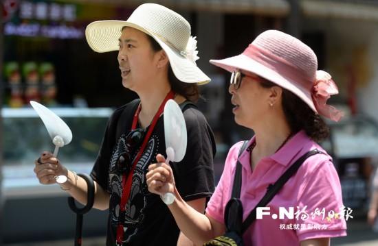 今起3天福州气温居高不下 注意做好防暑降温工作