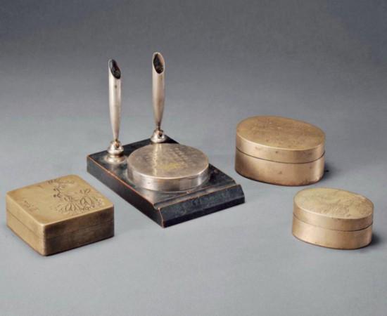 铜墨盒:鲜为人知的文房藏品
