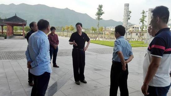 内乡县委书记李长江视察内乡5A级景区创建工作