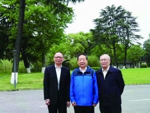 工程院院士获总书记接见 一门三院士来自泰州