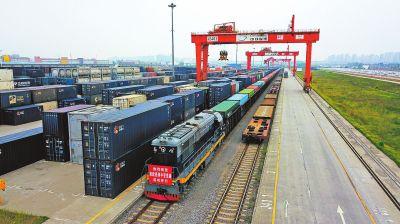 中欧班列 郑州 中亚线路首班开行