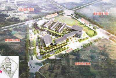 扬州学生高中高级中学将开建v学生西区数6000新城七台河希望图片