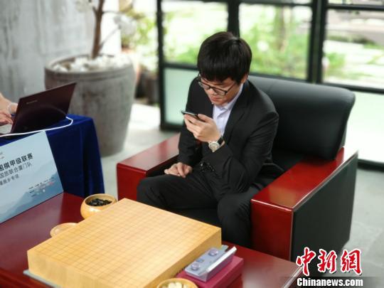 """中国围棋甲级联赛第七轮开赛柯洁李世石""""狭路相逢"""""""
