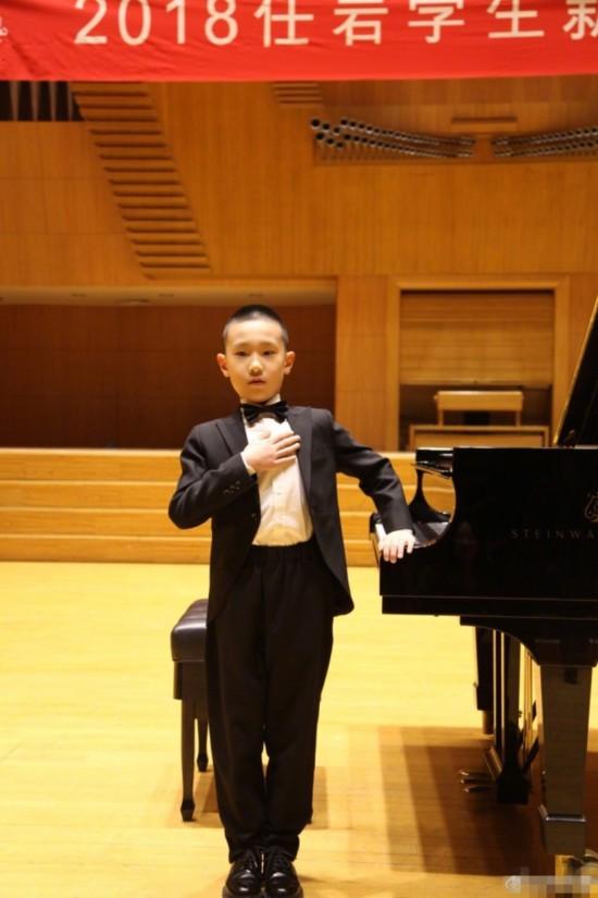 7岁林大竣获13次钢琴比赛奖 林永健称比上春晚还紧张