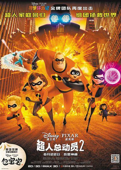 《超人总动员2》6月22日公映