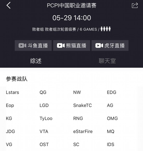 PCPI loser group second battle report OMG, LGD, Snake, etc. Who will be final