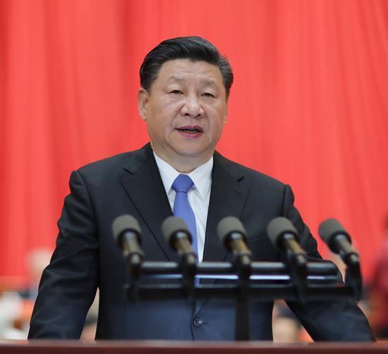 2018年5月28日,中国科学院第十九次院士大会、中国工程院第十四次院士大会在北京人民大会堂隆重开幕。习近平出席会议并发表重要讲话。来源:新华社
