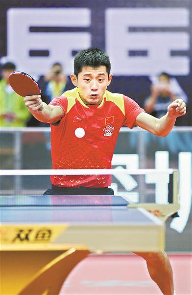 中国公开赛 张继科张本智和上演遭遇战(图)