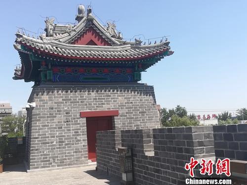 集中展示老北京文化的图书馆丰富人们文化生活