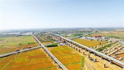 吴忠至中卫城际铁路主体完工