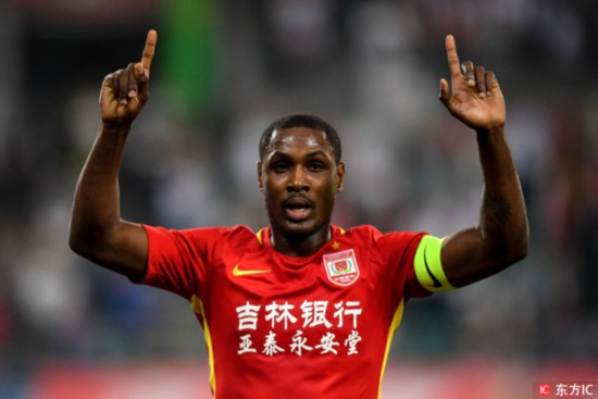 11/10/9 Chinese Super League players to represent 8 countries at World Cup