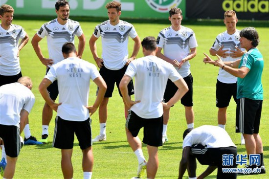[6](外代二线)足球――德国队备战世界杯