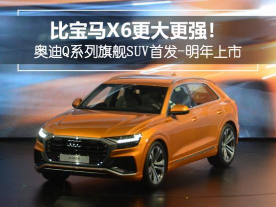 比X6更大更强奥迪Q系列旗舰SUV首发-明年上市-图1