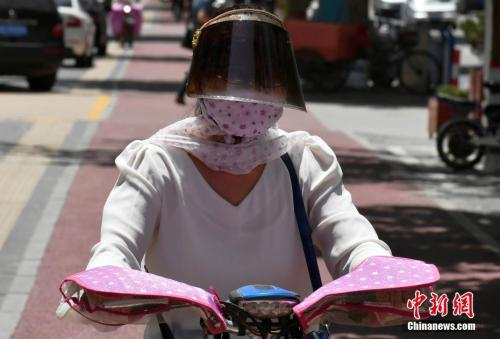 """京津冀""""炙热模式""""持续 北京最高温逼近40℃"""