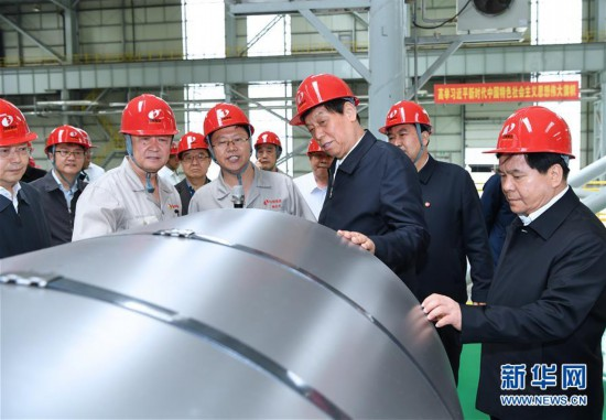 (时政)(1)栗战书在内蒙古检查大气污染防治法实施情况